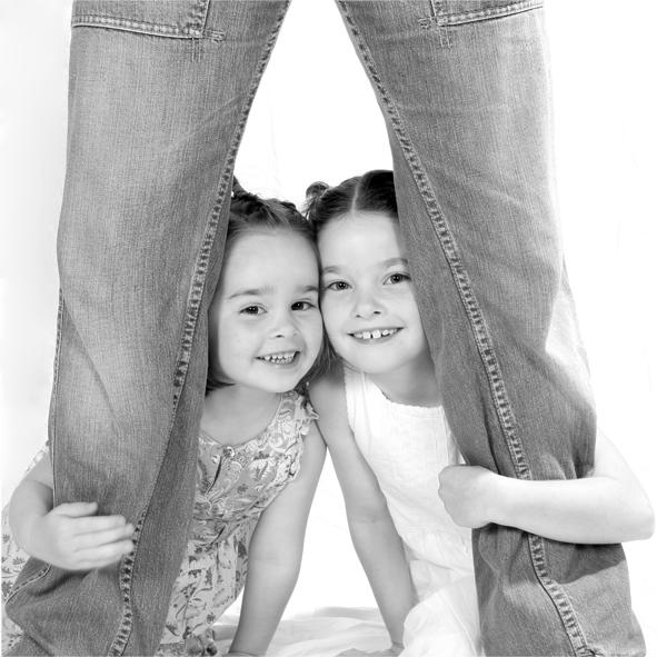 De beide zusjes Hamstra